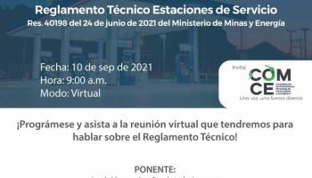Capacitación 10 de septiembre - Reglamento Técnico Estaciones de Servicio